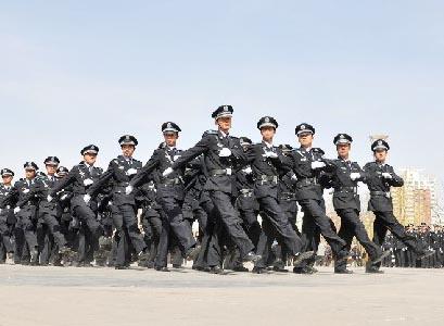 男保安人员岗前培训